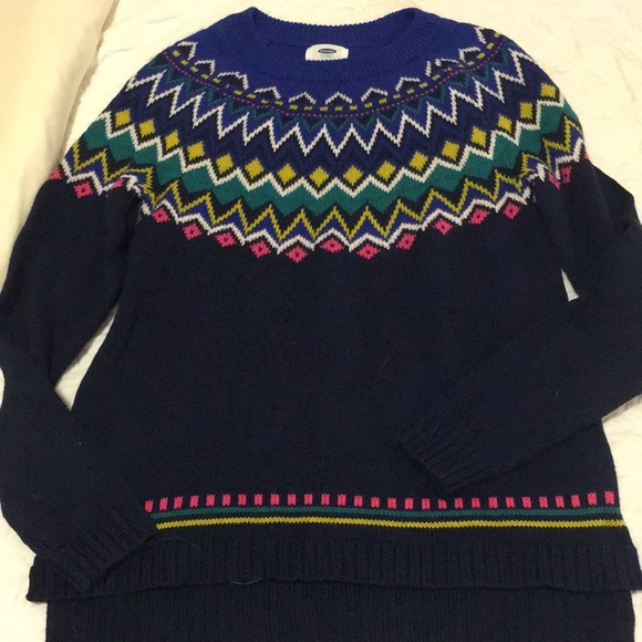 Old Navy Sweaters - Fair isle sweater XS